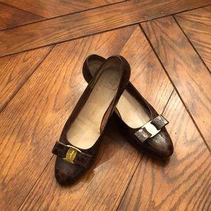 🎀Just In🎀 Croc Leather Ferragamo Pumps